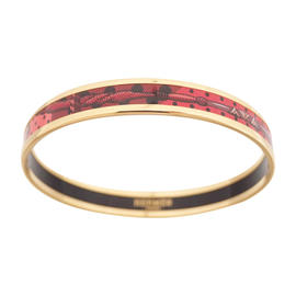 Hermes Narrow Cloisonne Multicolor Bracelet