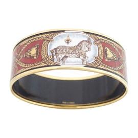 Hermes Multicolor Enamel Bracelet