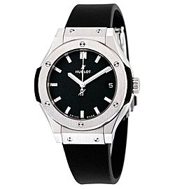 Hublot 581.nx.1171.rx Classic Fusion Quartz Titanium 33mm Womens Watch