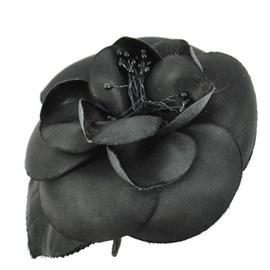 Chanel CC Logos Camellia Motif Corsage Brooch