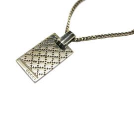 Gucci Diamantessima Sterling Silver Pendant Necklace