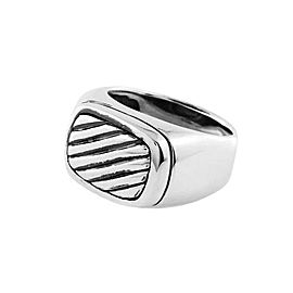 David Yurman Sterling Silver Cable Cigar Band Ring
