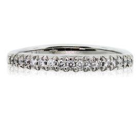 Scott Kay Platinum Diamond Wedding Band Ring