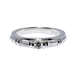 Scott Kay Platinum Diamond Wedding Band