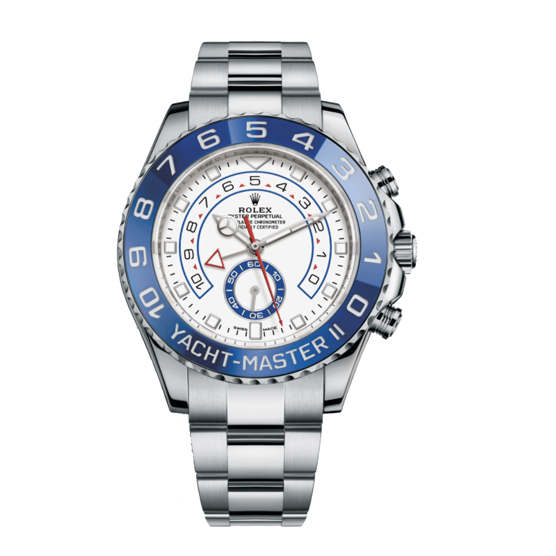 """Image of """"Rolex Yacht-Master II 116680 Stainless Steel 44mm Watch"""""""