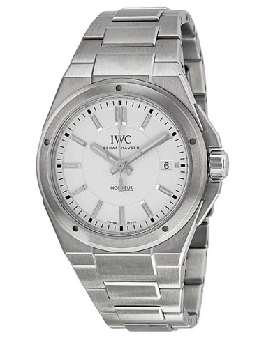 "Image of ""IWC Ingenieur Silver Stainless Steel Automatic Watch"""