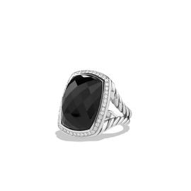 David Yurman Black Onyx and Diamonds Albion Ring