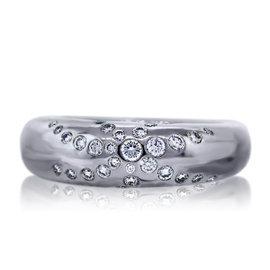 Chaumet 18K White Gold Diamond Ring