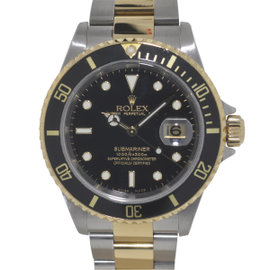 Rolex Submariner 16613 Stainless Steel & 18K Yellow Gold 40mm Watch