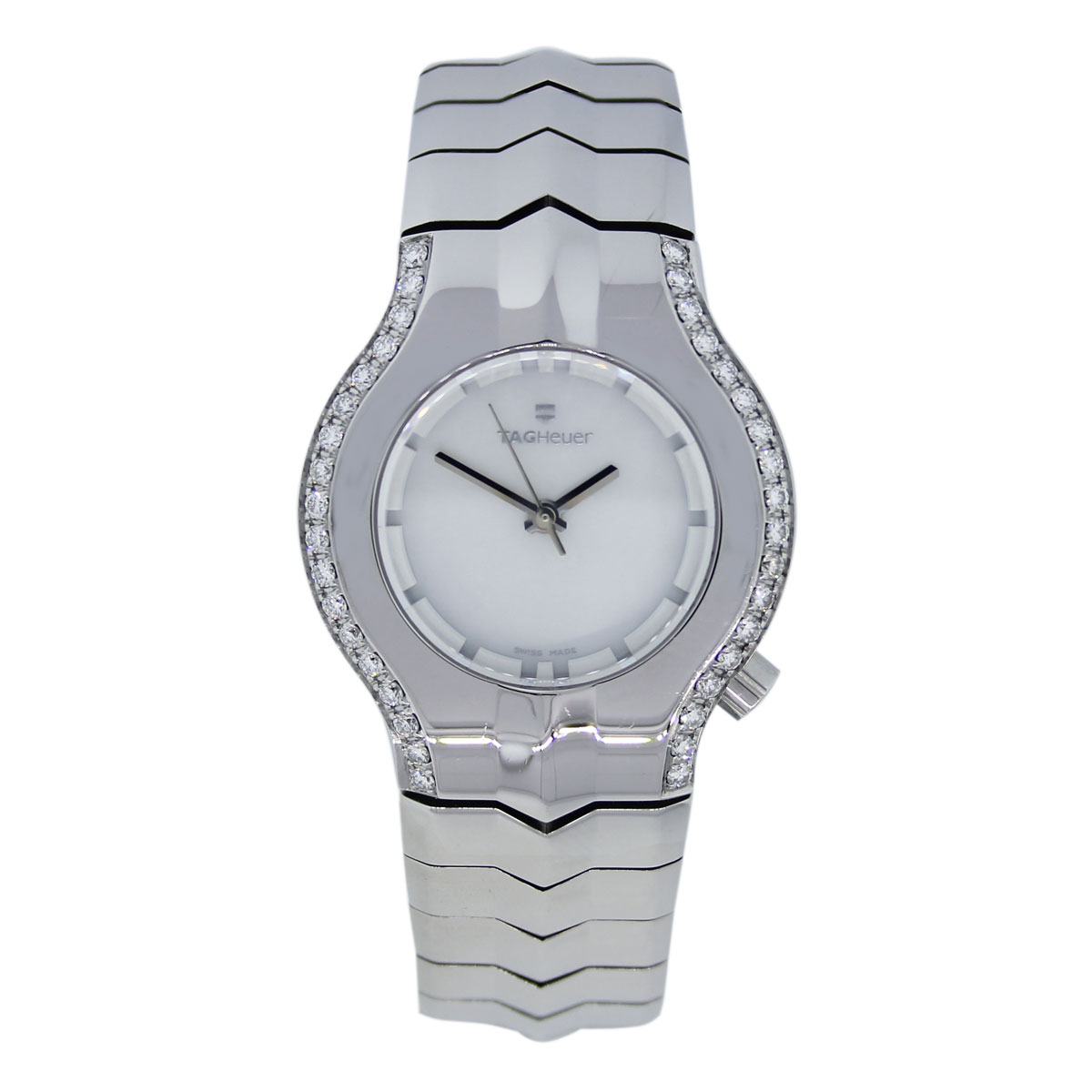"""Image of """"Tag Heuer Alter Ego Wp1319 Stainless Steel with Mother of Pearl Dial"""""""