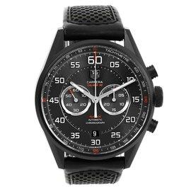 Tag Heuer Carrera CAR2B80.FC6325 Titanium PVD Coated 43mm Mens Watch