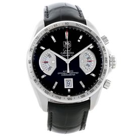 Tag Heuer Grand Carrera CAV511A Stainless Steel Automatic 43mm Mens Watch