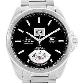 Tag Heuer Grand Carrera WAV5111 Stainless Steel Automatic 42.5mm Mens Watch