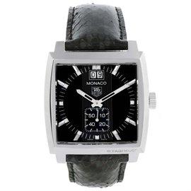 Tag Heuer Monaco WAW1310.FC6216 Stainless Steel & Diamond 37.5mm Unisex Watch
