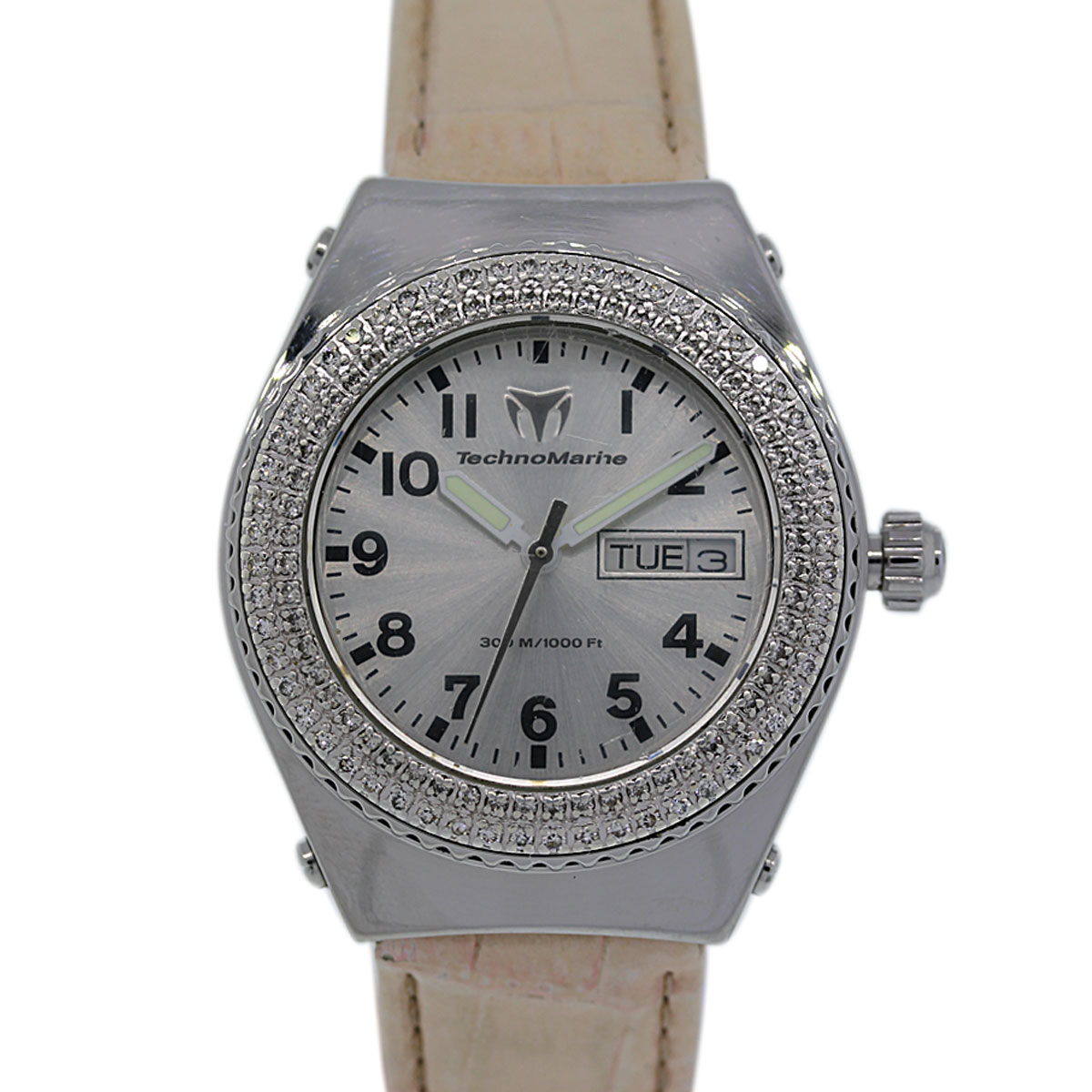 "Image of ""Technomarine 1465 Stainless Steel 36mm Womens Watch"""