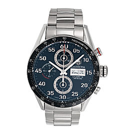 Tag Heuer Carrera CV2A10.FC6235 Stainless Steel Day Date 43mm Mens Watch