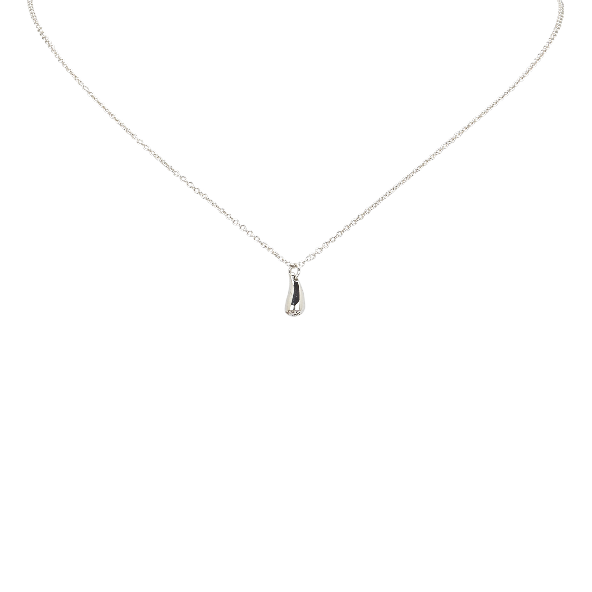 "Image of ""Tiffany & Co. 925 Sterling Silver Silver Pendant Necklace"""