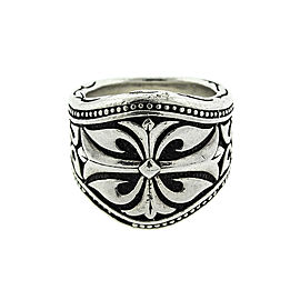Scott Kay Sterling Silver Knotted Vine Mens Ring
