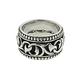 Scott Kay Sterling Silver Sparta Mens Ring