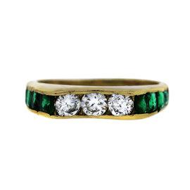 Platinum 1.33ct Diamond Three Stone Engagement Ring Size 5
