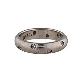 Tiffany & Co. Etoile Platinum Ring with Diamonds