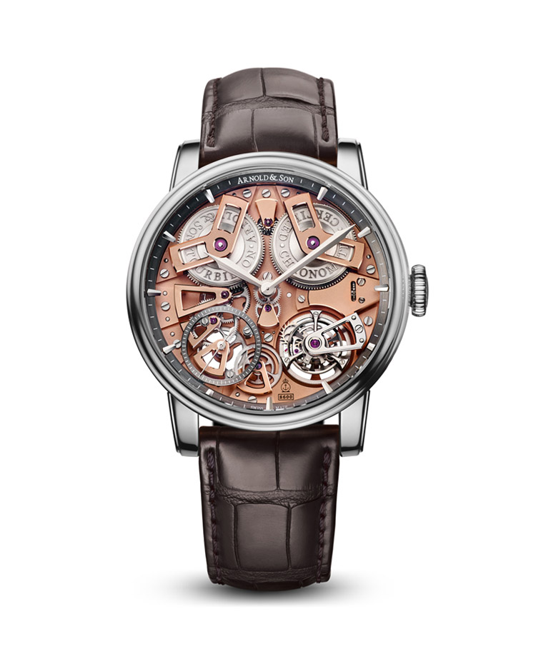 "Image of ""Royal Tourbillon Chronometer No.36 Steel Watch"""