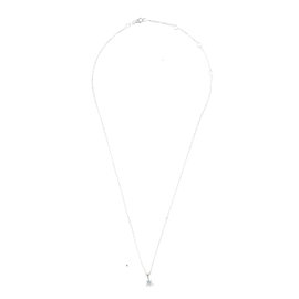 TARA 14k White Gold and 0.35ct Diamond Necklace