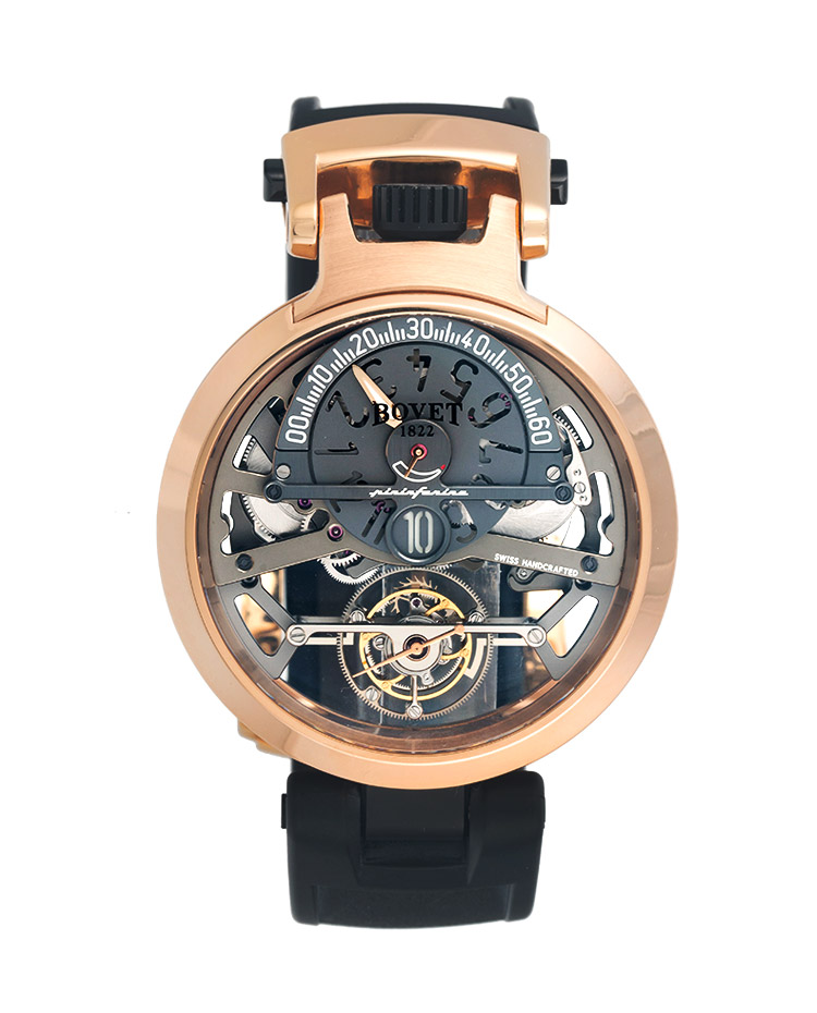 "Image of ""Bovet design by Pininfarina OttantaTre Reversible Dial Watch"""