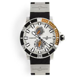 Ulysse Nardin Maxi Marine Diver 263-90-3/91 Stainless Steel Watch