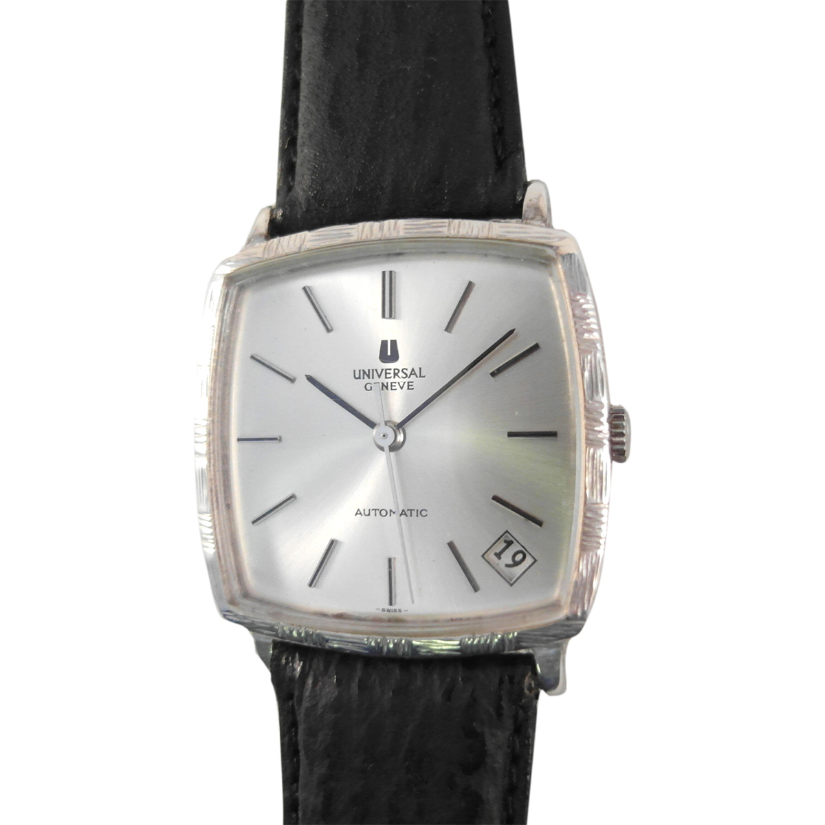 "Image of ""Universal Geneve 871100 18K White Gold Plated Automatic Vintage 32mm"""