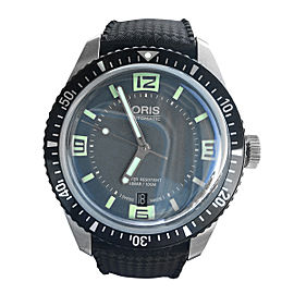 Oris Diver Sixty Five Stainless Steel and Black Rubber 40mm Watch