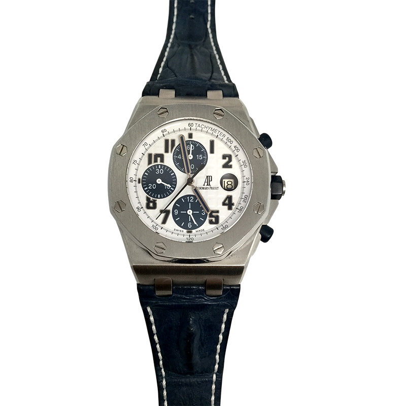 "Image of ""Audemars Piguet Royal Oak Offshore Chronograph Navy Model Stainless"""