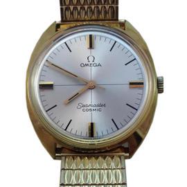 Omega Seamaster Cosmic 14k gold