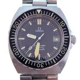 Omega 1978 Seamaster 40mm Stainless Steel Watch