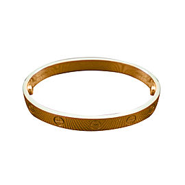 Cartier Love Rose Gold Bracelet Size 16