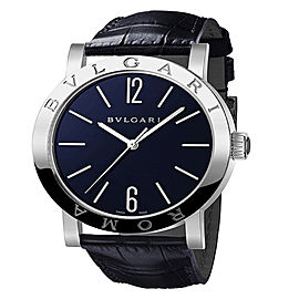 Bulgari Bulgari 18K White Gold Blue 39mm Mens Watch BBW39C3GL/ROMA