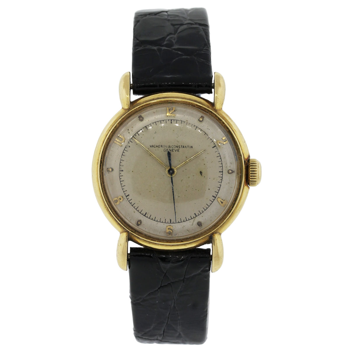 "Image of ""Vacheron Constantin 18K Yellow Gold Automatic Vintage 32mm Mens Watch"""