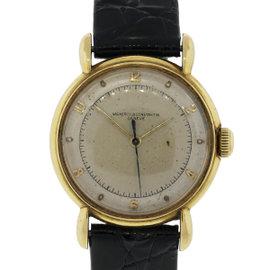 Vacheron Constantin 18K Yellow Gold & Leather 32mm Watch
