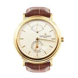 Vacheron Constantin Les Historiques Power Reserve 48101 18K Rose Gold 36mm Watch