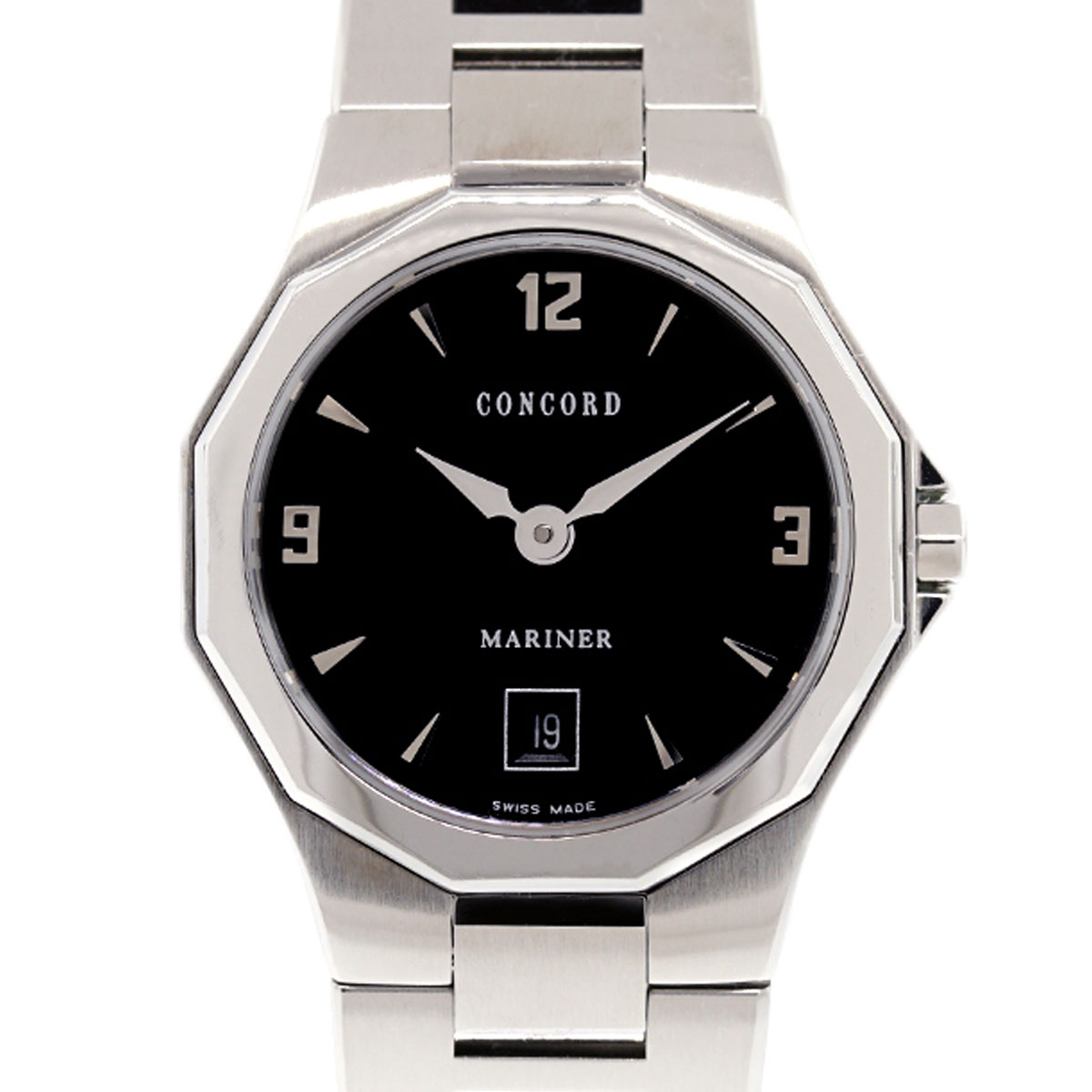 """Image of """"Concord Mariner Stainless Steel Automatic 26mm Womens Watch"""""""