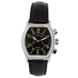 Girard Perragaux Richeville 2750 Stainless Steel Black Dial 35mm Watch