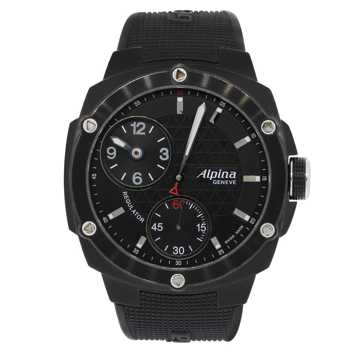 """Image of """"Alpina Avalanche Extreme Al650X5Ae6 Black PVD Stainless Steel Black"""""""