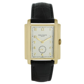 Patek Philippe Gondolo 5124J 18K Yellow Gold 30mm Mens Watch