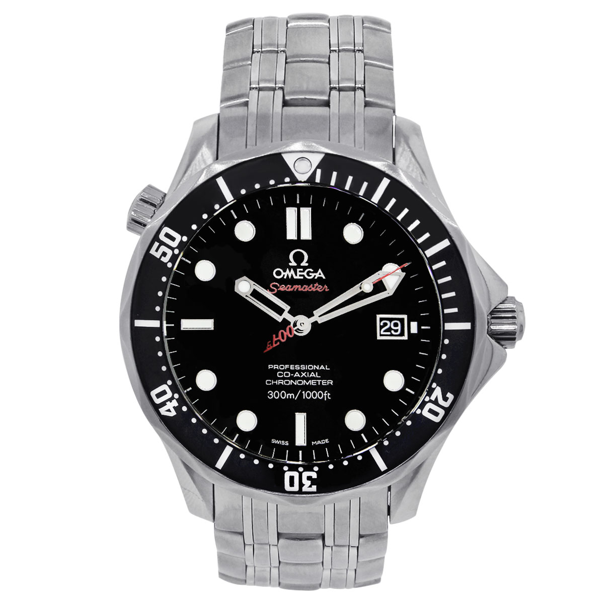 "Image of ""Omega James Bond Seamaster 212.30.41.20.01.001 Stainless Steel"""