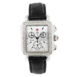 Michele Deco MW06A01 Stainless Steel 33mm Unisex Watch