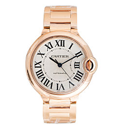 Cartier Ballon Bleu W69004Z2 18K Rose Gold 36.2mm Unisex Watch