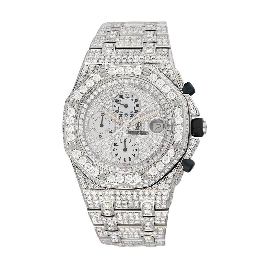 """Image of """"Audemars Piguet Stainless Steel Royal Oak Offshore Automatic with"""""""