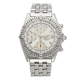 Breitling Chronomat A13352 40mm Stainless Steel Mens Watch