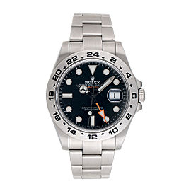 Rolex Explorer II 216570 BKSO Black Dial Stainless Steel Oyster Bracelet Automatic 42mm Mens Watch