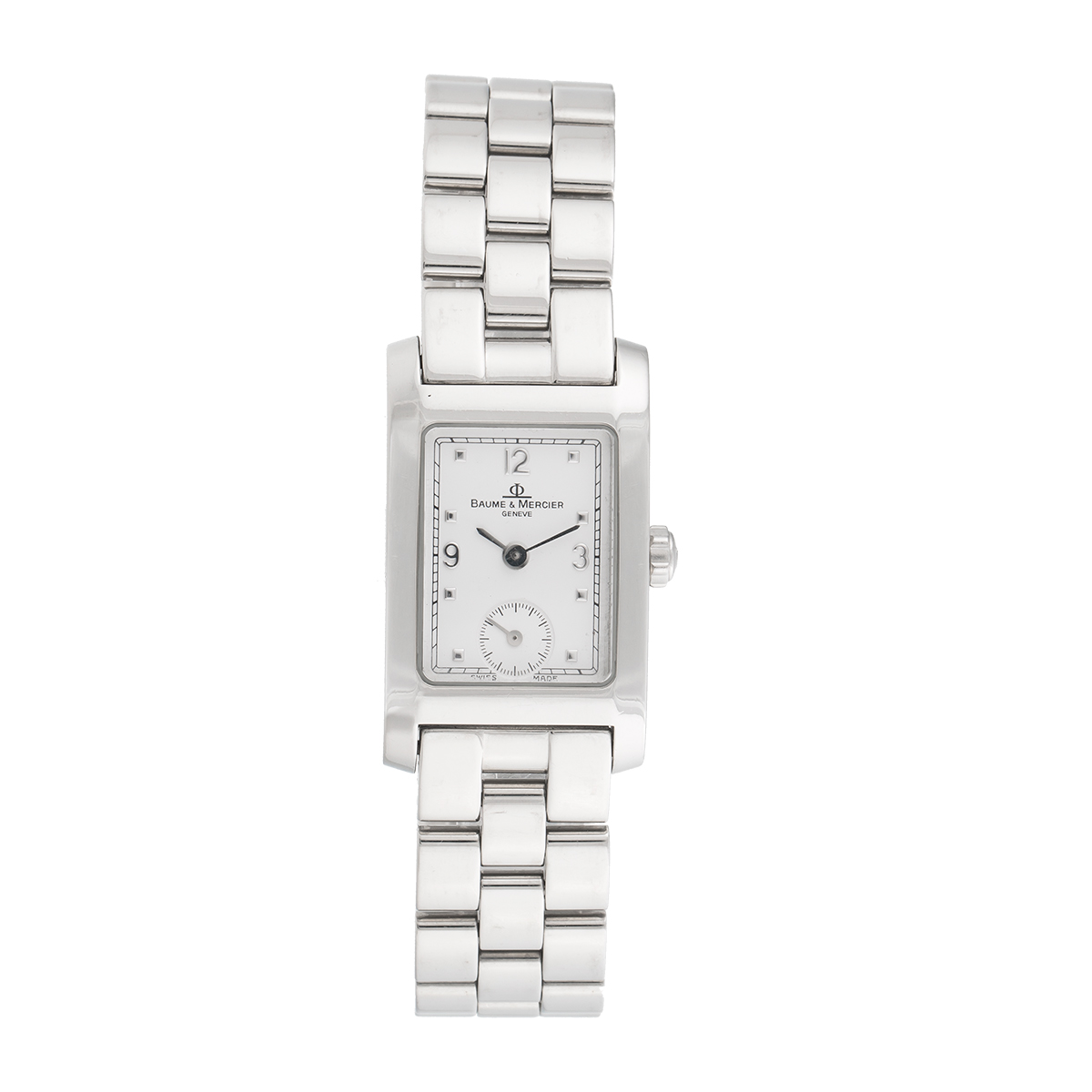 "Image of ""Baume & Mercier Hampton Small Seconds Stainless Steel 20.5mm Womens"""